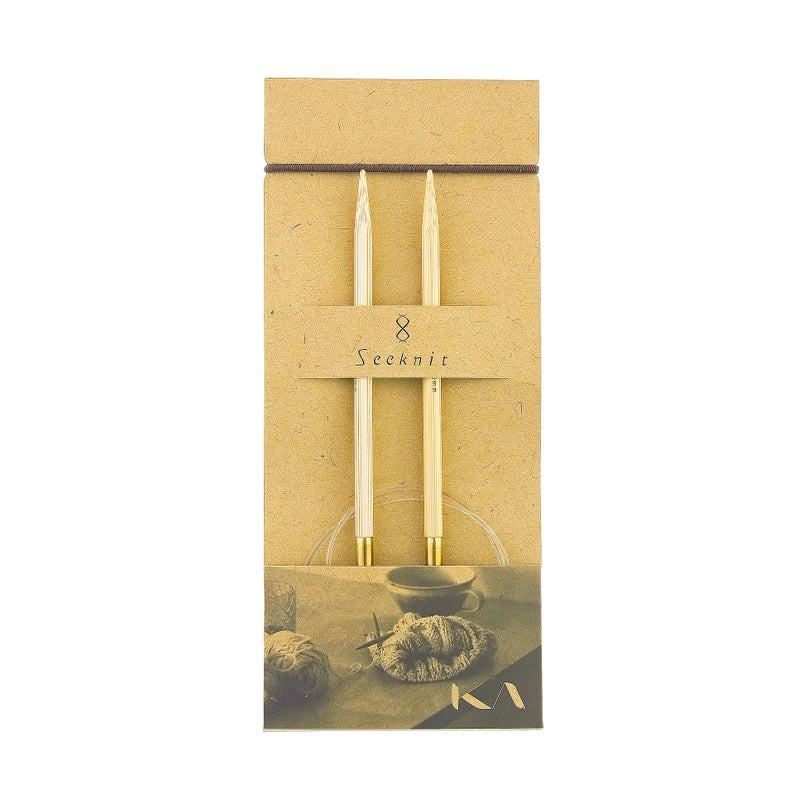 Kruhové jehlice Seeknit Shirotake 80 cm / 4,5 mm