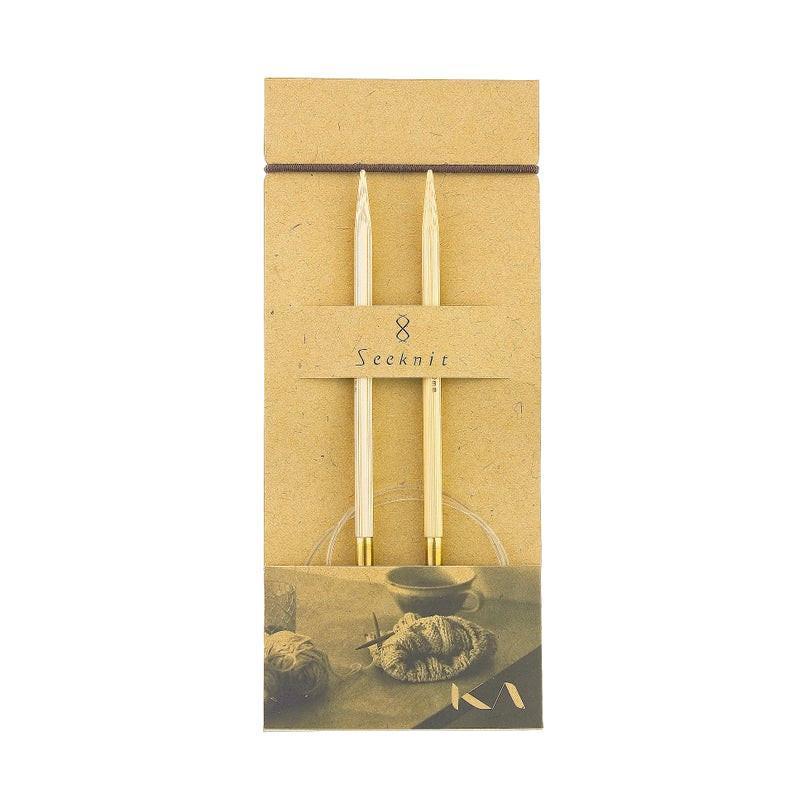 Kruhové jehlice Seeknit Shirotake 100 cm / 3,5 mm