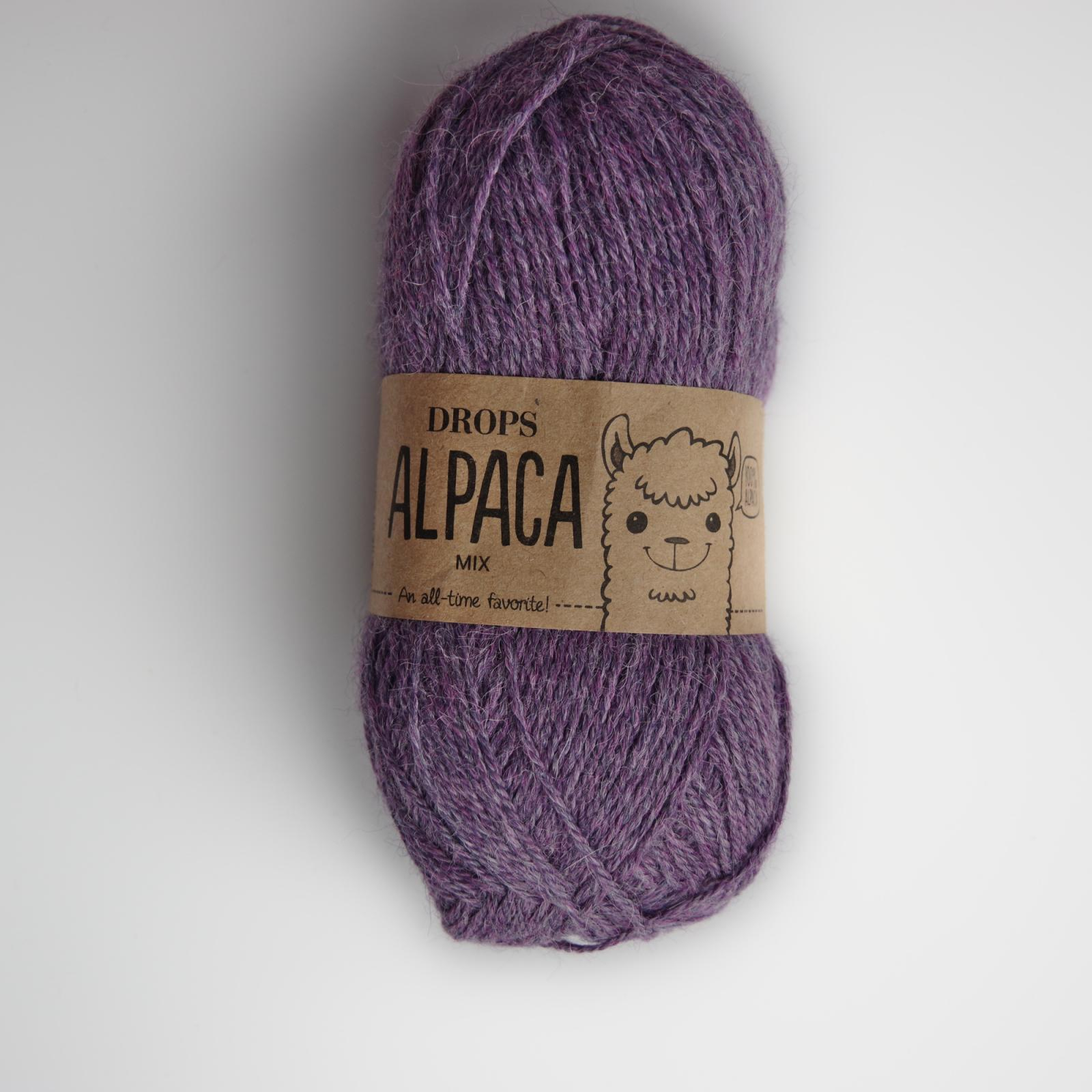 Alpaca - Mix - 4434 purpurová/fialová