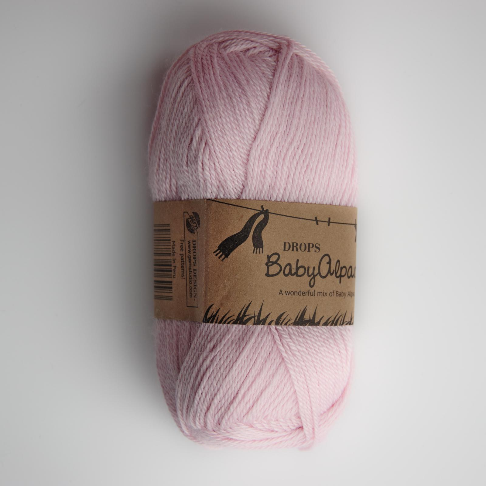 Baby alpaca silk - 3125 růžová
