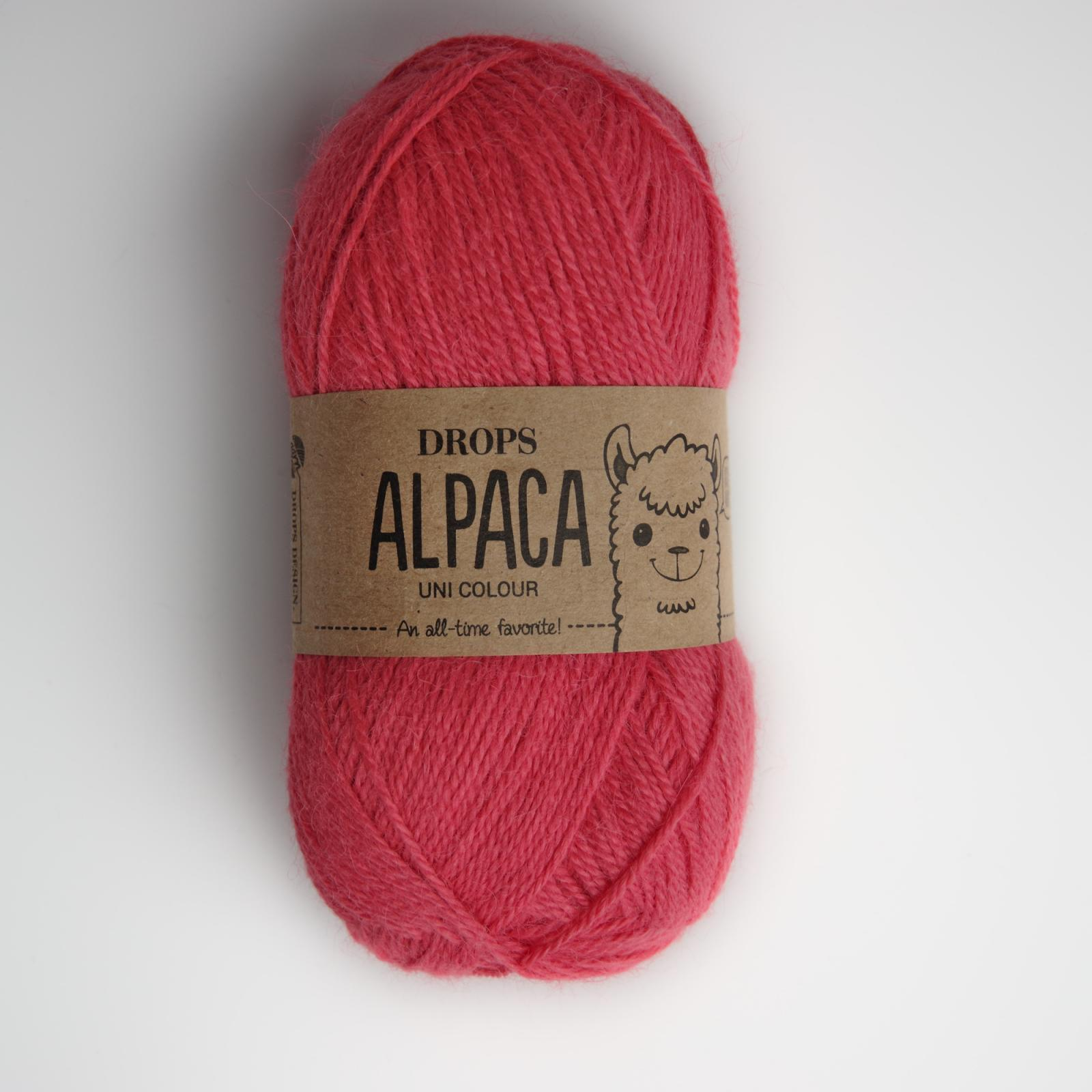 Alpaca - Uni colour - 9022 koral