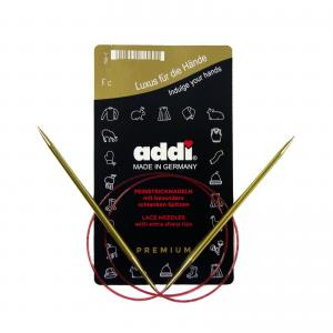 Kruhové jehlice Addi Premium 60 cm / 3,25 mm