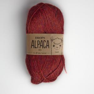 Alpaca - Mix - 5565 kaštanová/bordó