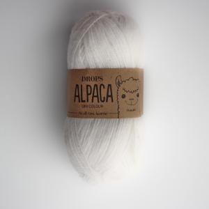 Alpaca - Uni colour - 1101 bílá