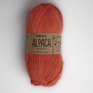 Alpaca - Uni colour - 2915 pomerančová