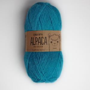 Alpaca - Uni colour - 2918 tyrkysová