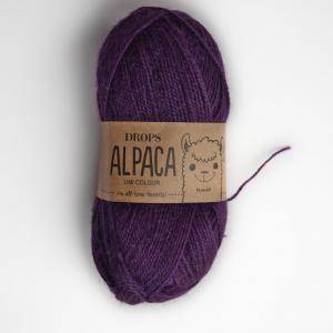Alpaca - Uni colour - 4400 lilek
