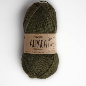 Alpaca - Uni colour - 7895 tmavá zelená